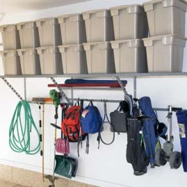 Garage Shelving Ideas in Weddington