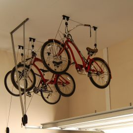 Ft. Mill Garage Shelving Bike Rack