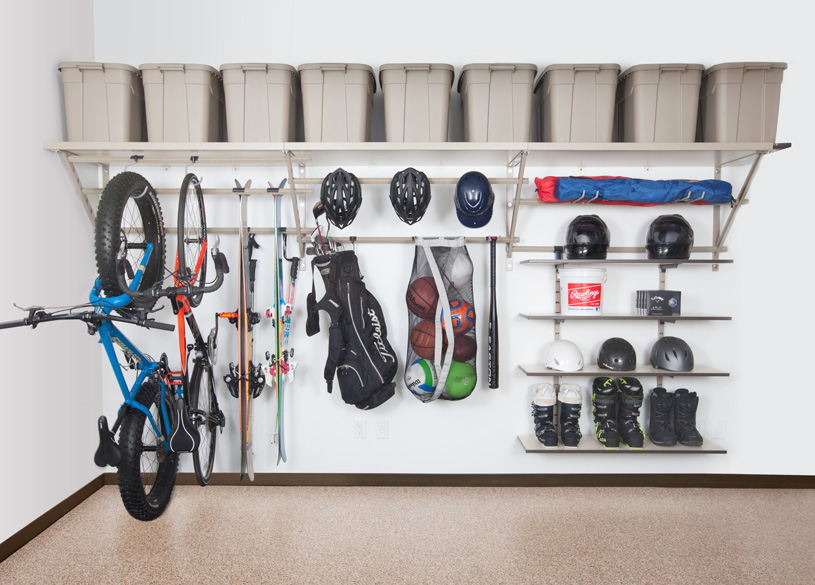 Charlotte Garage Shelving